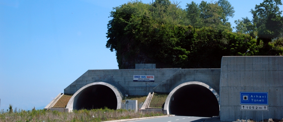 Black Sea Coastal Highway _ Espiye-Sarp Section Tunnels