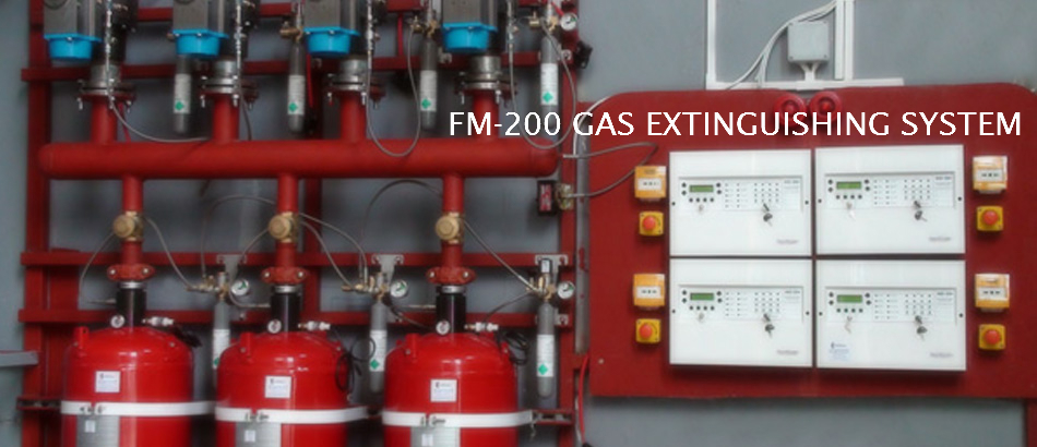 GASEOUS EXTINGUISHING SYSTEM